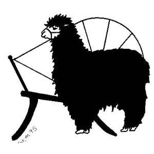 Stick Up Spin Alpaca