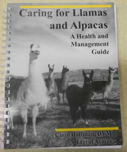 Caring For Llamas Book