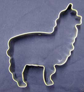 Cookie Cutter Alpaca