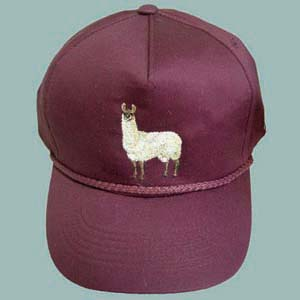 Embroidered Ball Cap Alpaca/Llama