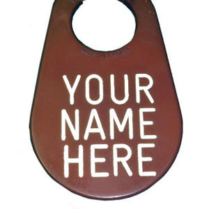 Engraved Id Tag Single Side