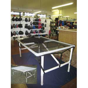 Fiber Skirting Table Kit Only