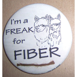 Freak For Fiber Pin