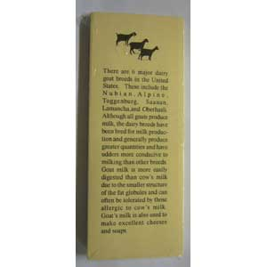 Bookmarks: Dairy Goat