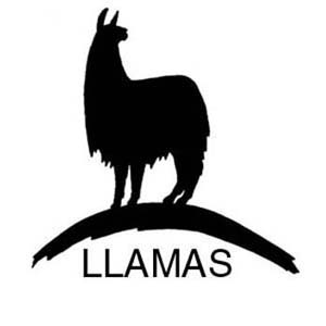 Stick Up Guard Llama W/Word