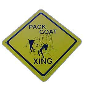 Sign Pack Goat Xing