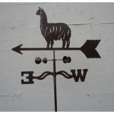 Yard Weathervane Lama