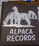 Record Binder Alpaca