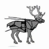 Reindeer Harness With Britching