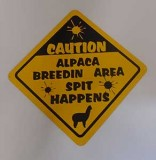 Breeding area sign
